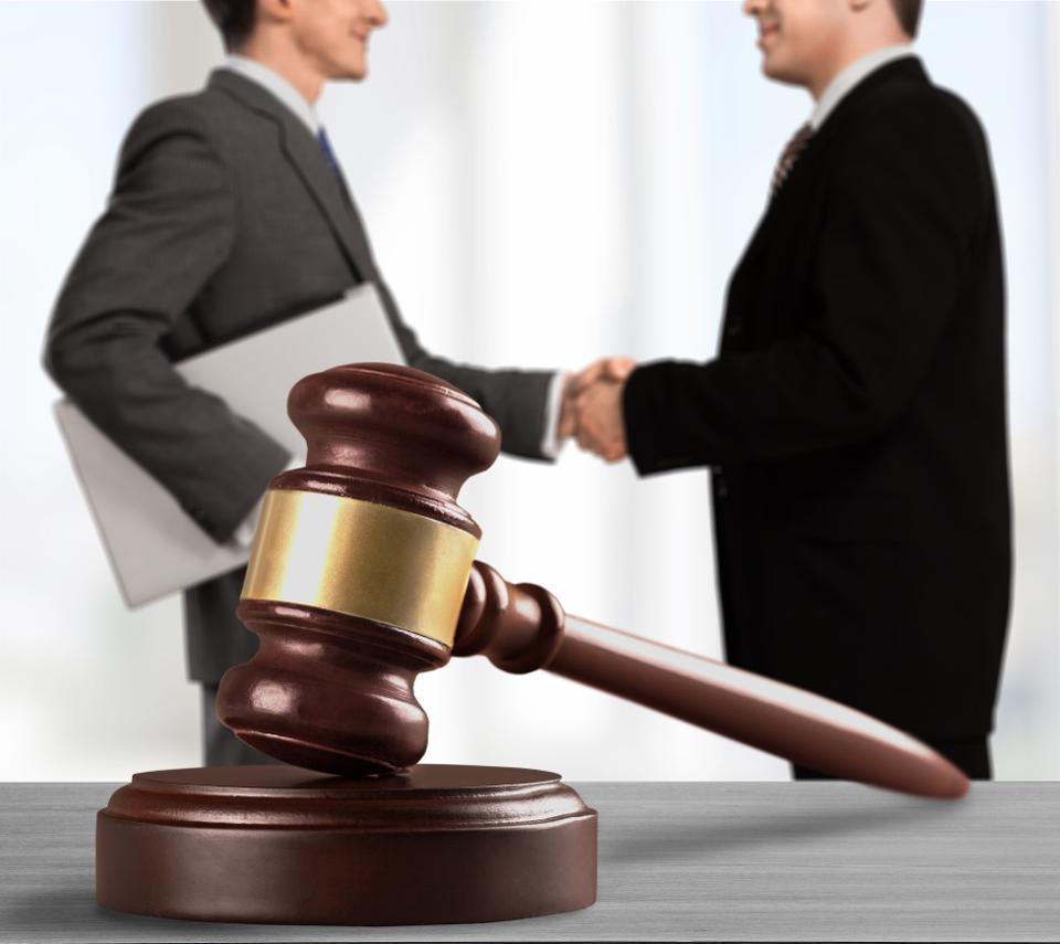судебные споры между юридическими лицами